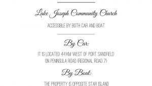 Wedding Invite Directions Template Wedding Invitation Directions Card Wedding Reception