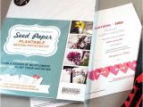 Wedding Invite Kits Do Yourself Do It Yourself Seed Wedding Invitation Kit American Meadows