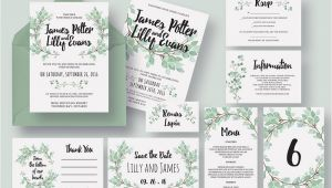 Wedding Invite Packages 50 Wonderful Wedding Invitation Card Design Samples