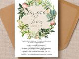Wedding Invitions top 8 Printable Floral Wedding Invitations