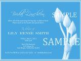 Wedding Lunch Invitation Wording Bridal Luncheon Invitation Wording Mini Bridal