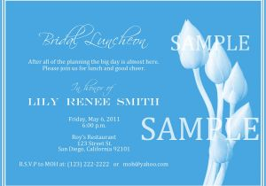 Wedding Lunch Invitation Wording Bridal Luncheon Invitation Wording Mini Bridal