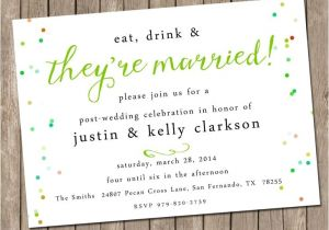 Wedding Lunch Invitation Wording Our Favorite Post Wedding Brunch Invitations