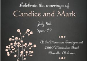 Wedding Party Invitations after Getting Married Elopement Party Invitations Reception Only Invitations