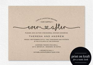 Wedding Party Invitations after Getting Married Wedding Invitation Wording Ideas Wedding Invitation