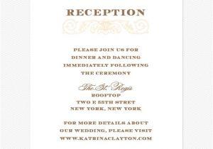 Wedding Reception Invitation Wording Already Married Wedding Reception Invitation Wording Choice Image