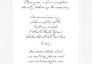 Wedding Reception Invitation Wording Already Married Wedding Reception Invitations Wedding Reception