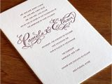 Wedding Reception Invitations Wording How to Choose the Best Wedding Invitations Wording