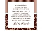 Wedding Registry Cards for Invitations Wedding Invitation Registry Wording Sunshinebizsolutions Com
