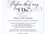 Wedding Welcome Party Invitation Wedding Wel E Party Invitation Wedding Vows