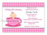 Welcome Baby Girl Party Invitations Welcome Baby Shower Invitations Invitations Ideas