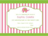 Welcome Baby Party Invitations A Whimsical Welcome Home
