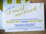 Welcome Party Wedding Invitation Wording Bahamas Wedding Welcome Party Invitations I Custom by Nico