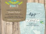 Welcome to the World Baby Shower Invitations Baby Shower Invitation Wel E to the World by Sassyinkstudio