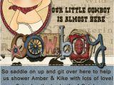 Western Baby Boy Shower Invitations Baby Shower Invitations