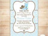 Western Baby Boy Shower Invitations Cowboy Baby Shower Invitation Country Western Baby Boy