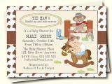 Western Baby Boy Shower Invitations Western Baby Shower Invitation Cowboy Baby Shower Invite