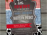 Western Baby Shower Invites Cowboy Baby Shower Invitation Paisley Baby Shower