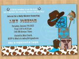 Western theme Baby Shower Invites Western Baby Shower Invitations Template Resume Builder