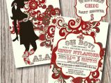 Western theme Baby Shower Invites Western Baby Shower Invitations Western by