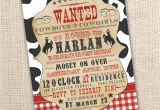 Western theme Party Invitation Template Free Western Invitation Free Template