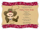 Western themed Baby Shower Invitations Cowboy themed Baby Shower Invitations – Gangcraft
