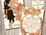 Western themed Baby Shower Invitations Western Baby Shower Invitations