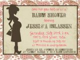 Western themed Baby Shower Invitations Western Mama 5×7 Baby Shower Invitation