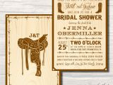 Western themed Bridal Shower Invitations Country Western Bridal Shower Invitation by Icandothatdesign