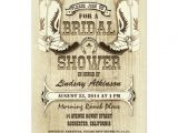 Western themed Bridal Shower Invitations Cowboy Shoes Western Bridal Shower Invitations