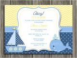 Whale themed Baby Shower Invitations Nautical theme Baby Shower Invitations Nickhaskins