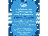 Whale themed Baby Shower Invitations Whale Baby Shower Invitation Nautical Baby Shower Card