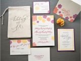 What is Included In A Wedding Invitation Suite Wisconsin themed Wedding Invitation Suite Colorful Design