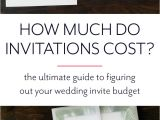 What is the Average Price for Wedding Invitations How Much Do Wedding Invitations Cost Paper Fling