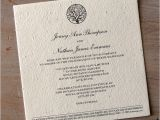 What Paper to Use for Wedding Invitations Enchanted Tree Plantable Wedding Invitations Seed Paper