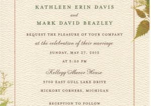 What Should A Wedding Invitation Say Invitations for Better and Worse