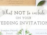 What to Include In A Wedding Invitation Wedding Invitation Wording Archives Oh My Designs by Steph