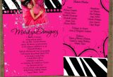 What to Put On A Quinceanera Invitation Pin Quinceanera Invitations Wording Samples English and