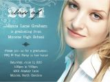 What to Say On Graduation Invitations Bear River Photo Greetings Three New Graduation