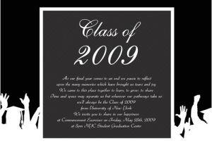 What to Say On Graduation Invitations Graduation Announcement What to Say