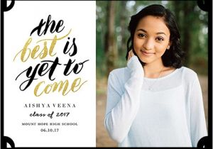 What to Say On Graduation Invitations Graduation Announcement Wording Ideas for 2018 Shutterfly
