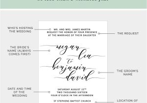 What to Say On Wedding Invitations How to Write Your Wedding Invitation Message Pipkin