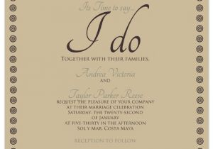 What to Say On Wedding Invitations Wedding Invitations Time to Say I Do at Minted Com