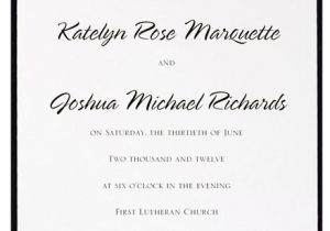 What to Say On Wedding Invitations What Does the Font You Choose for Your Wedding Invitations
