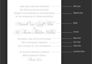 What to Say On Wedding Invitations What to Say On Wedding Invitations Card Design Ideas