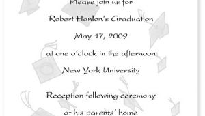 What to Write In A Graduation Invitation Graduation Announcement the Write Stuff