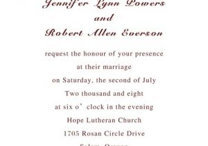 What to Write In A Wedding Invitation Always United In Love Wedding Invitations Iwi210 Wedding