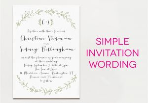 What to Write In A Wedding Invitation Wedding Invitation Templates What to Write On A Wedding