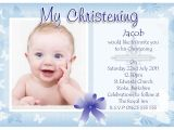 What to Write On A Baptism Invitation Baptism Invitation Baptism Invitations for Boys New