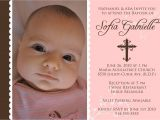 What to Write On A Baptism Invitation Baptism Invitations for Girl Baptism Invitation Template